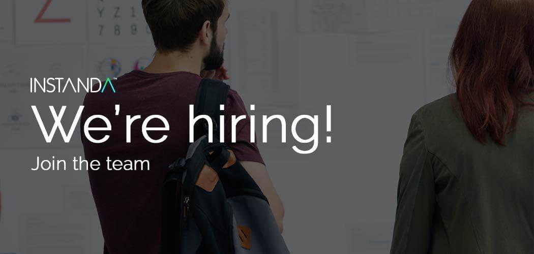 INSTANDA is hiring!