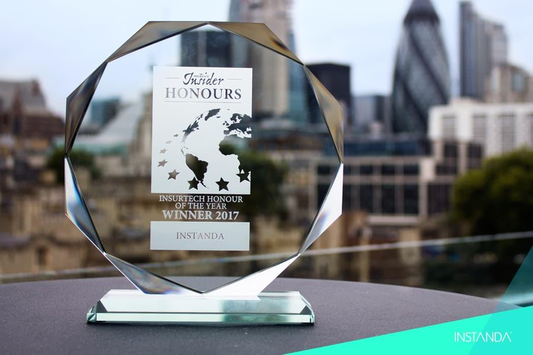Winners of the Insurance Insider's InsurTech Honours!