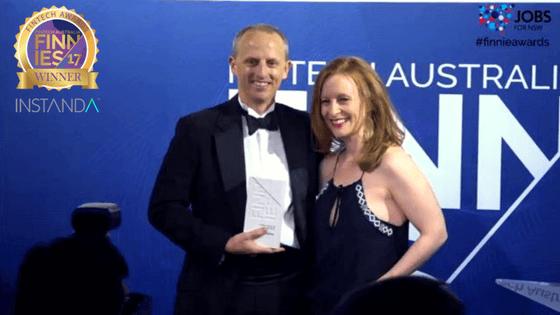 INSTANDA winners of Excellence in InsurTech Award