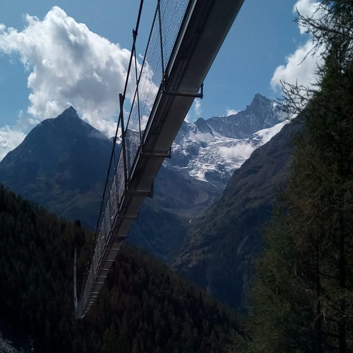 The Randa Suspension Bridge