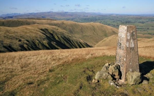 On the summit of Green Bell