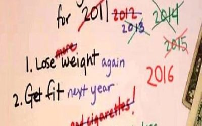 New Year Resolutions 12 30