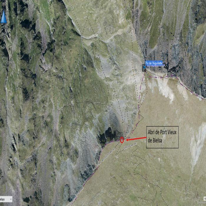 OSM overlayed on GE aerial image