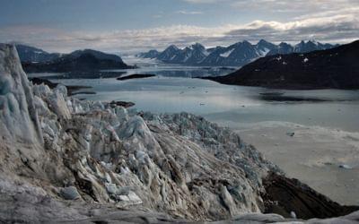 The glacier at Balestrand