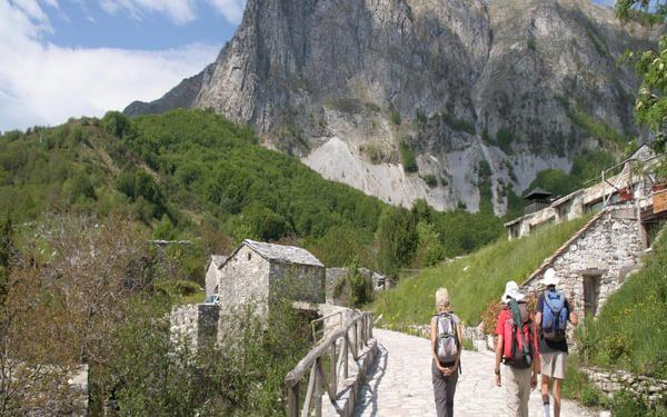 3 Leaving Campocatino and Heading For Monte Roccandagia