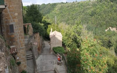 8 The Route Leaves Pitigliano The Back Way