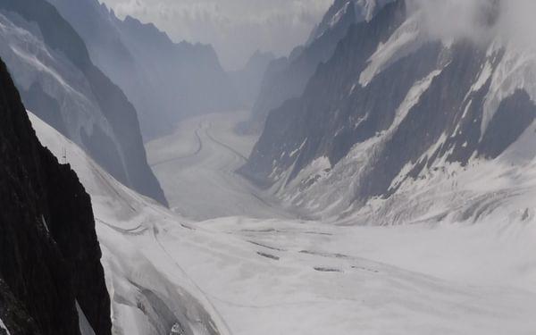 01 The Aletsch Glacier Runs South From Jungraujoch For 20Km