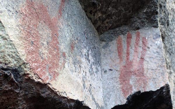 Prehistoric Hand Art