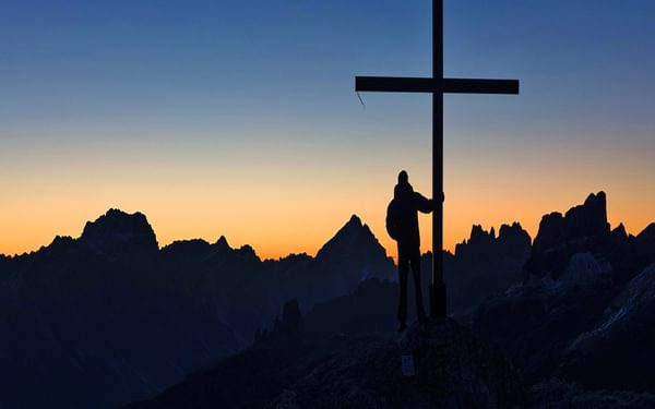 056A Sunrise On The Summit Of Sass Di Stria