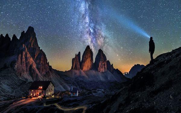 125 Watching The Milky Way From Rifugio Locatelli