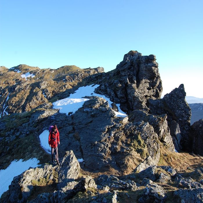 An Caisteals Knobby Ridge