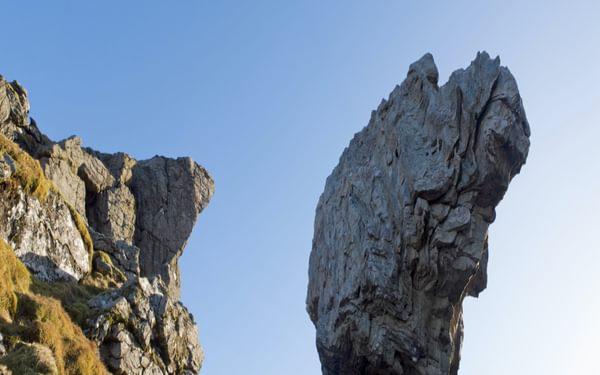 Poised Boulder On Cobbler North Top