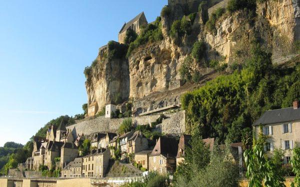 The fortified town of Beynac