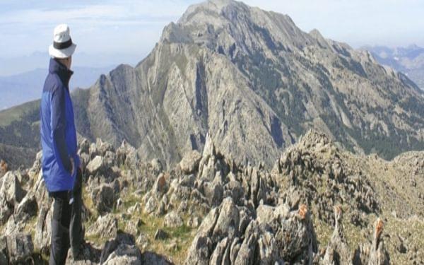 The Summit Of Malascamas With La Maroma Ahead