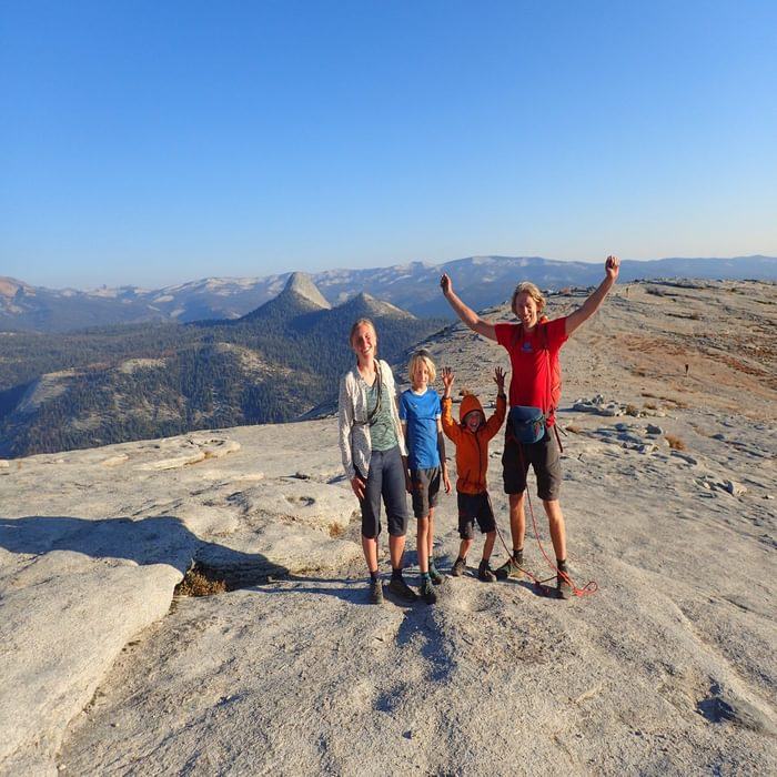 Half Dome Summit Party