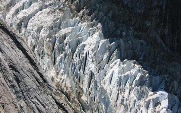 Glacier Below The Gleckstein Hut