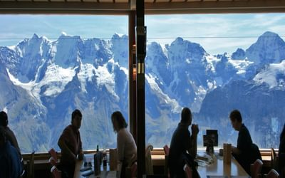The Schilthorn Restaurant Provides Stunning Views