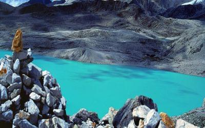 Setso Lake Southwest Gonju La On The Ramena Trail