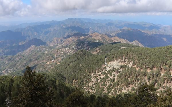 2  Troeodos Mountains From The Artemis Trail