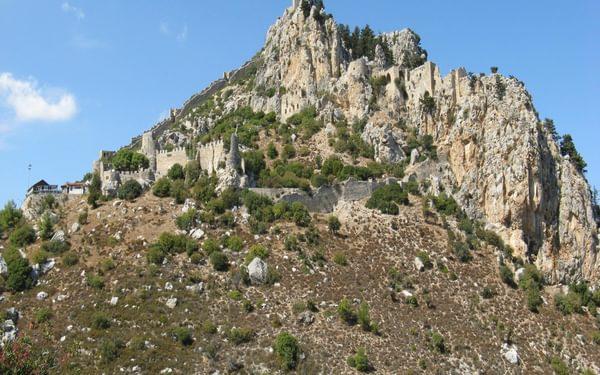 3  St Hilarion On Its Rocky Crag