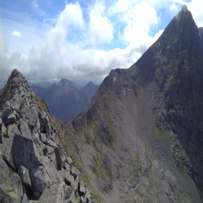 The Carn Mor Dearg Arete And The Ascent Of Ben Nevis