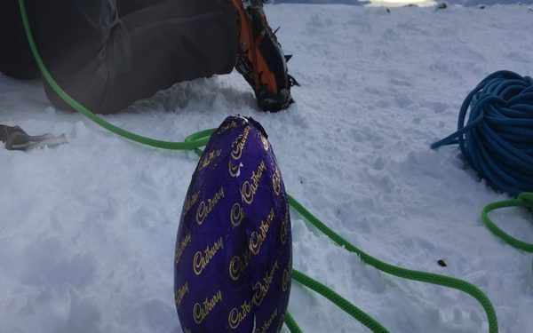 Easter Egg On The Top Of Ben Nevis