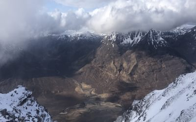 Looking towards the Fisherfield Forest: Scotland's most remote Munros