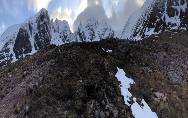 The cliffs of An Teallach