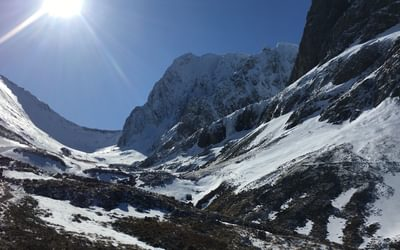 The stunning north face of Ben Nevis