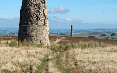 Lead Mining Remains On The Moors Above Allendale