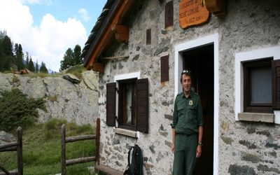 1 A Park Ranger And His Hut