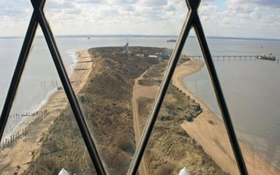 The Top Of Spurn Head From The Lighthouse