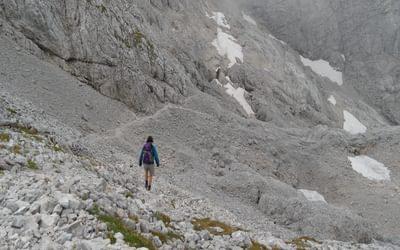 Decending From Hoher Gohl Berchtesgaden