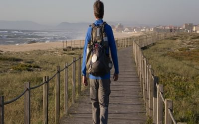 Coastal Camino: Boardwalk Between Vila Do Conde And Esposende