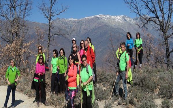 At the Collado de Las Losas with the Montes Tras la Sierra behind