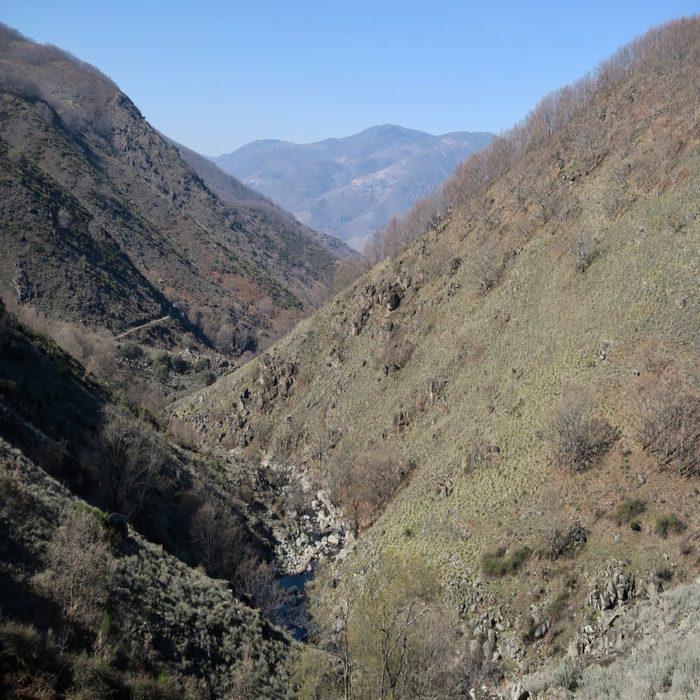 Looking towards the Montes De Tras La Sierra