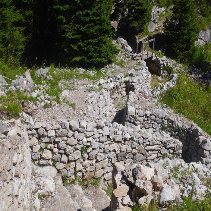 Defending the pass at Passo Cavallo