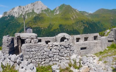 Staring into Austria - 30 metres between the frontline