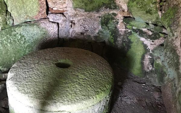 Upper watermill millstones