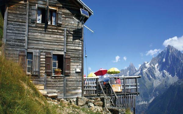 The Refuge de Bellachat (2152m)