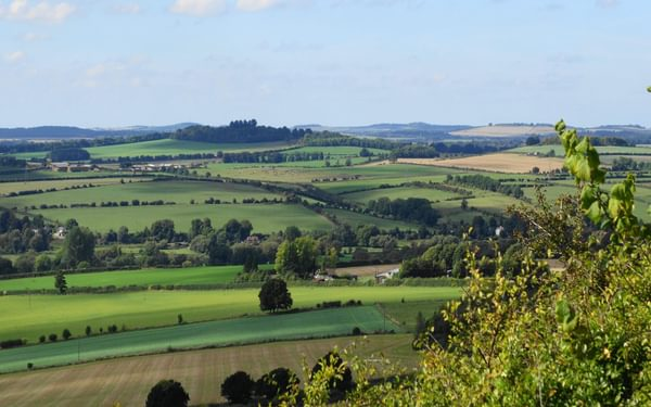 The glorious Test Valley from Stockbridge Down