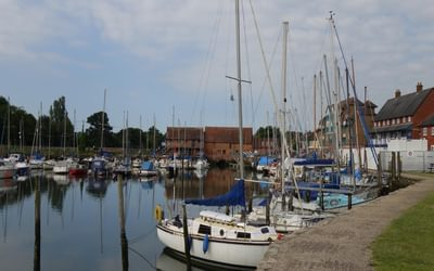 Eling tide mill, Totton