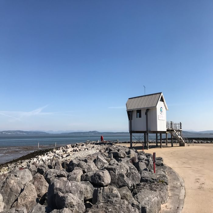 The view from Morecambe Prom