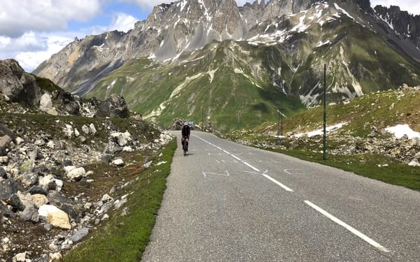 Upper Section Of The Galibier