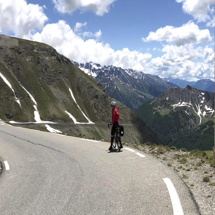 A Fine Road Leads South From The Bonette
