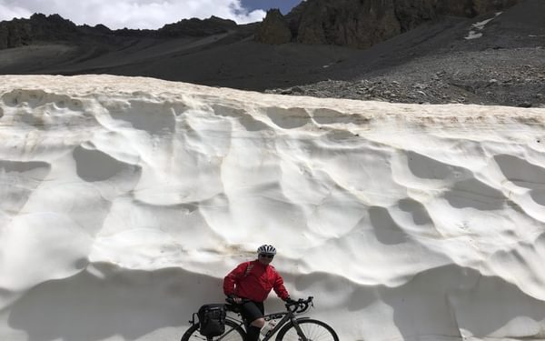 Walls Of Snow On The Izoard