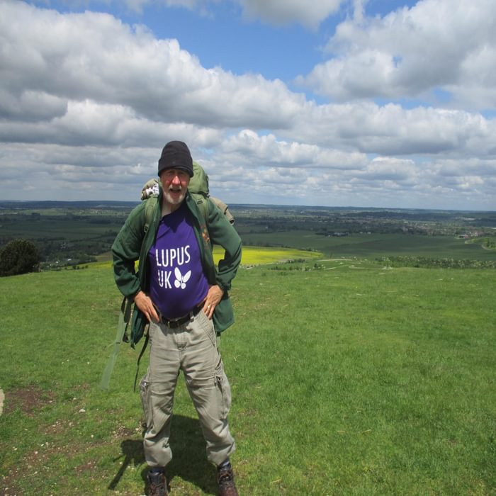 Myself at the end of the walk on Ivinghoe Beacon