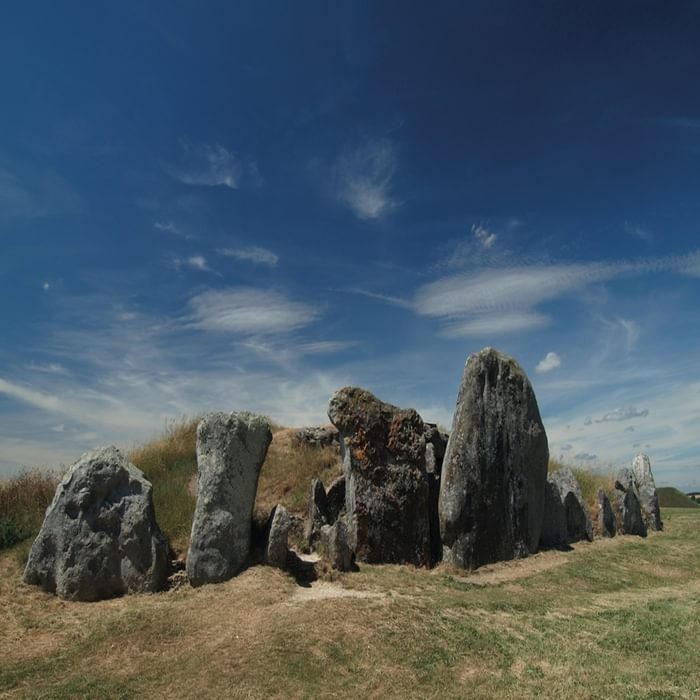 West Kennet Long Barrow – one of the largest Neolithic chambered tombs in Britain (photo: Steve Davison)