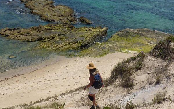 The beach between Tarifa and Bolonia