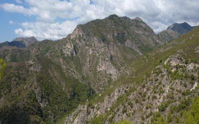 Looking northwest towards the Sierra de Almijara